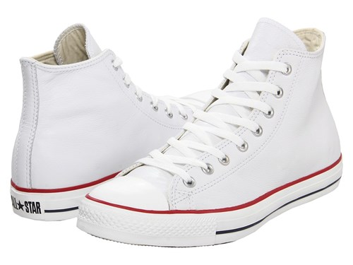 All Converse Star Classic Shoes Hi R Taylor White R Leather Chuck Leather qtHZrt
