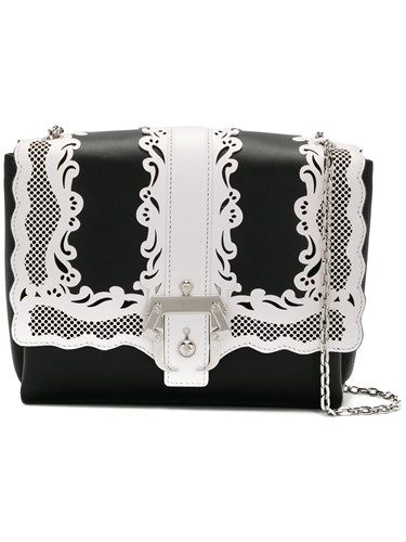 Cademartori Paula Alice Black Handbag Lady Lace FaBraq