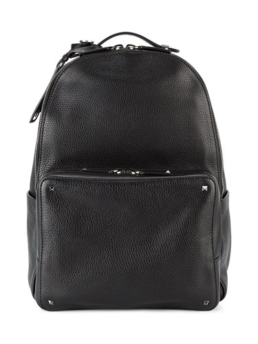 Valentino Black Rockstud Backpack 71UJJau