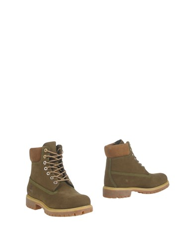 Timberland Ankle Boots Military Green 0F0zHS