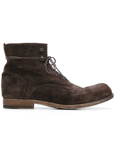 Officine Creative Bubble Boots Men Calf Leather Leather 41 Brown 8c6RNqF2