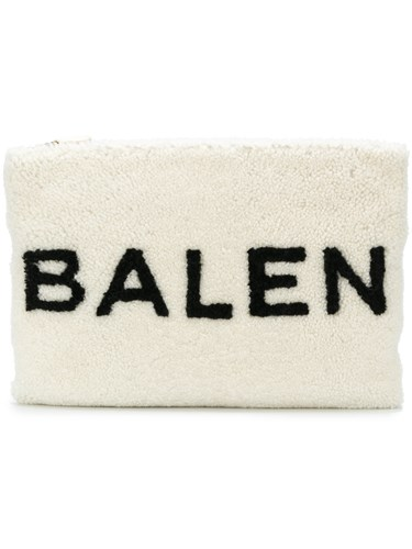 Balenciaga Shearling Pouch Sheep Skin Shearling White wH1bPdqwUP