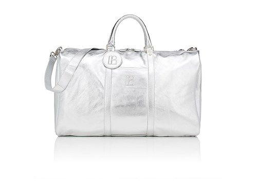 Lisa Perry Women's Oversized Duffel Bag Silver XVl8iLH