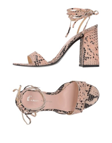 LILLY FORTUNA Sandals Pink fMnCP