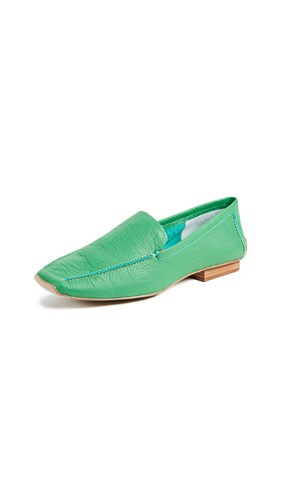 Frances Valentine Elyce Loafers Grass 3FVhRH