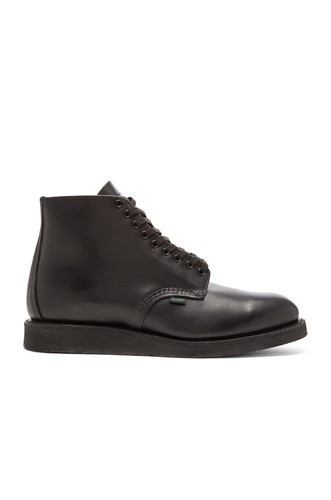Red Wing Shoes 6' Postman Boot Black yd03gZmzX1