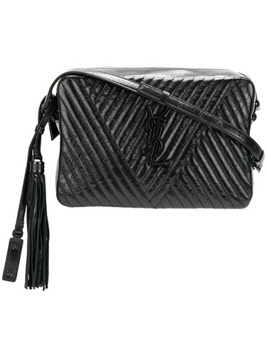 Saint Laurent Quilted Camera Bag Black 3fLddk