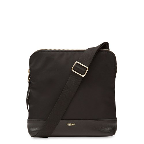 Knomo Woodstock Cross Body Bag Black eq85hW