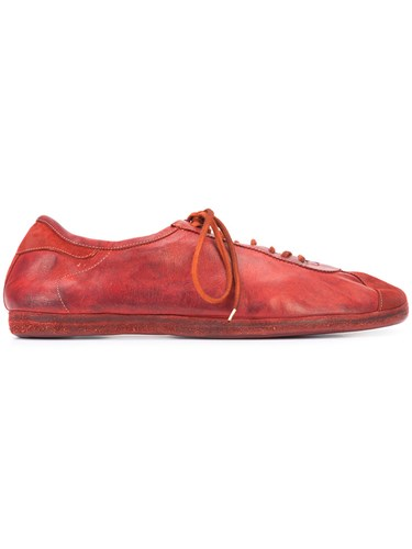 Guidi Lace Up Sneakers Men Leather 42 Red XCOLv
