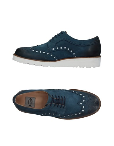 ROBERTO BOTTICELLI Lace Up Shoes Slate Blue dwhODByrs