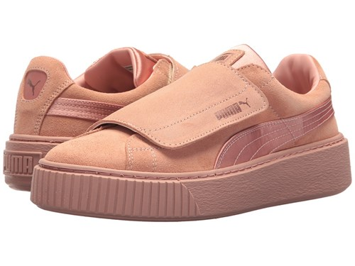 Puma Platform Strap Satin Ep Peach Beige Peach Beige Rose Gold Shoes Orange IyyYq2Aef
