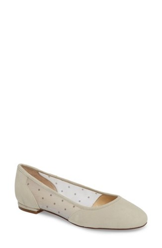 Sole Society Pammy Ballet Flat Dove Grey 2OgJdW