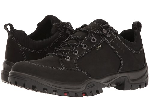 Ecco Xpedition Iii Black Men's Lace Up Casual Shoes RQlGEZ