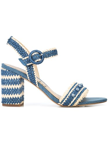 Blue Braided Olisa Sandals Sam Edelman Tp7qff