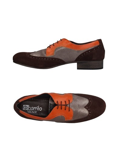 Ebarrito Lace Up Shoes Dark Brown NaEDsJP