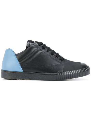 Black Leather Up Marni Lace Sneakers Rubber nwqSnRXc