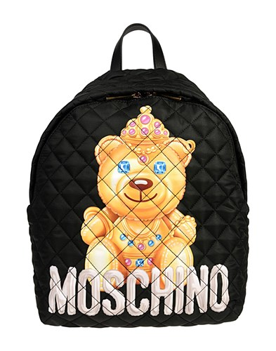 Packs Black Backpacks And Couture Fanny Moschino 6gwS7qxx