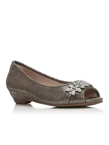 in Moda Pelle Low Grey Shoes Smart Gabriet OqT10pnq