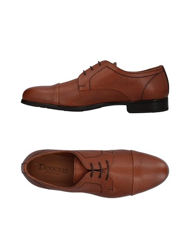 Doucal's Lace Up Shoes Brown oRl8gxMd56