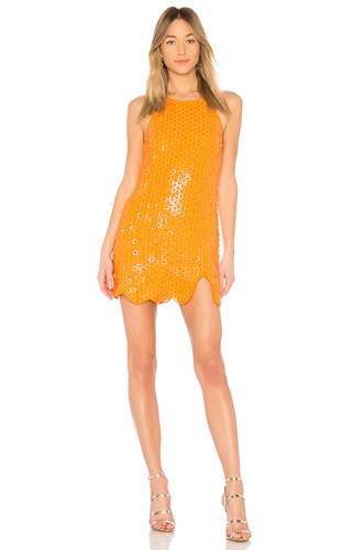 X By NBD Misha Dress Orange nNWGn