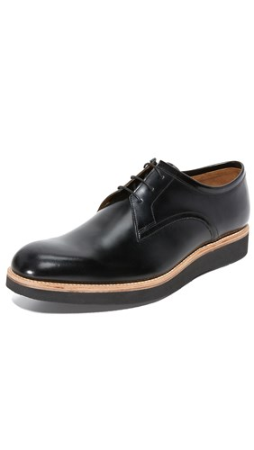 Grenson Grenson Black Derby Shoes Lennie Lennie 6nxZwn