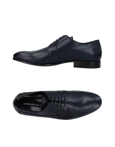 Alessandro Dell'Acqua Lace Up Shoes Dark Blue 6d338TY0D