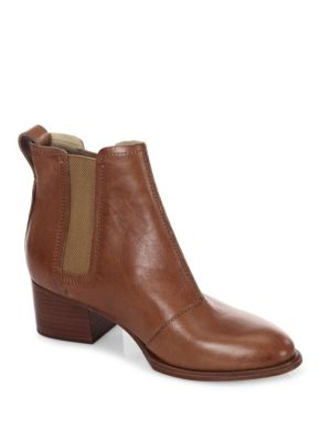 Rag and Bone Walker Ii Leather Chelsea Boots Tan 1KShGWu