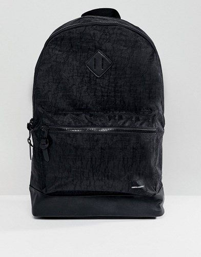 Asos Backpack In Washed Black a4T9a