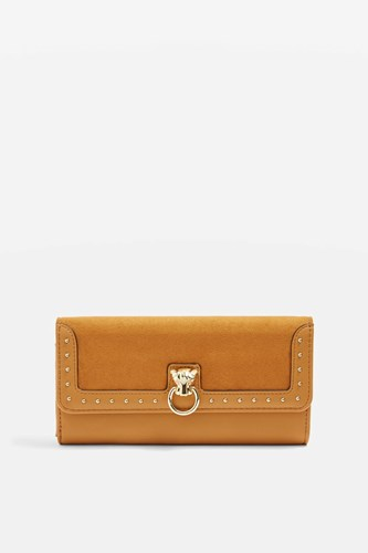 Topshop Panther Charm Purse Mustard AVoOSB