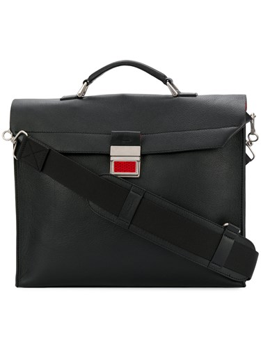Maison Martin Margiela Laptop Shoulder Bag Black FyTptBKbfi