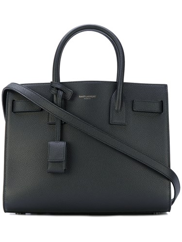 Saint Laurent Sac De Jour Tote Calf Leather Black knE825l
