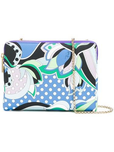 Shoulder Geometric Print Multicolour Pucci Emilio Bag gtwqK8g5