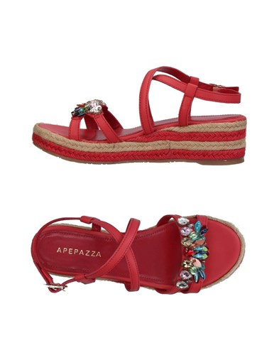 Sandals Red Red Apepazza Sandals Apepazza 5w7YxXqU