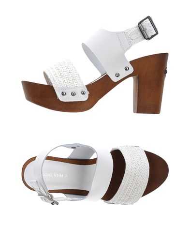 Lumberjack Sandals White hcasW