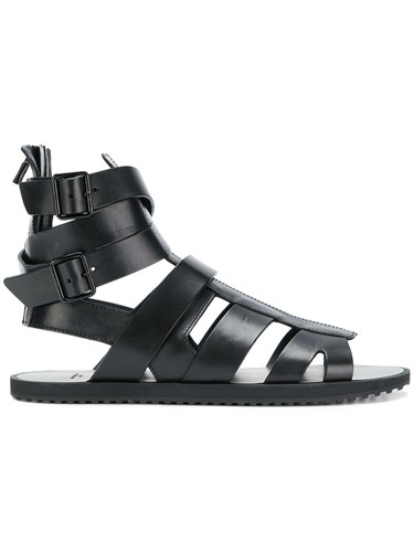 Givenchy Flat Strappy Sandals Sandals Black Flat Flat Givenchy Givenchy Strappy Strappy Black Sandals EaYwHwdx