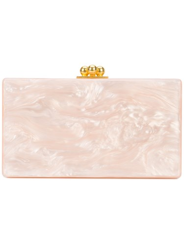 Edie Parker Jean Solid Clutch Pink And Purple kIZGMF24