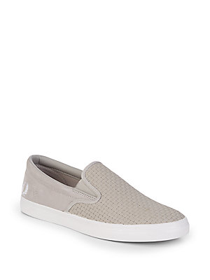 Fred Perry Underspin Low Top Sneakers Beige 08PQO