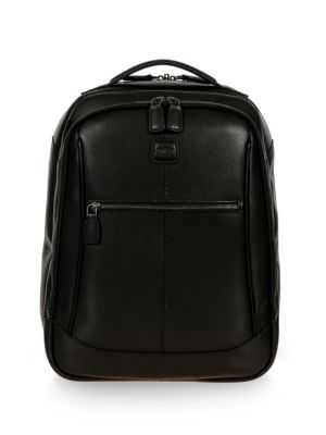 Bric's Varese Director Medium Leather Backpack Black n4iCG25I