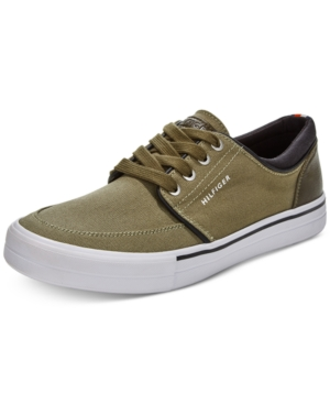 Tommy Hilfiger Men's Redd2 Lace Up Sneakers Men's Shoes Dark Green 6A3sv