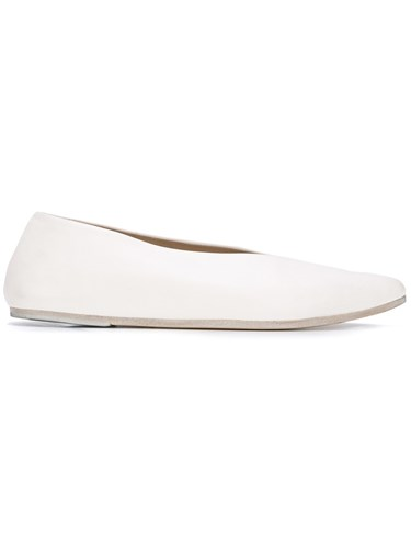 Marsèll Pointed Toe Loafers White 2yNDp2