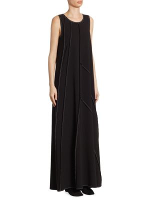 The Row Didi Maxi Dress Black iREOlMm