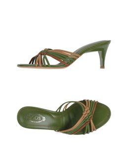 Tod's Sandals Green 189754Sm