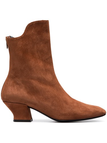 Dorateymur Brown Han 50 Suede Ankle Boots YV8igW3111