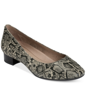 Aerosoles Subway Pumps Snake Print U27lSVXGg