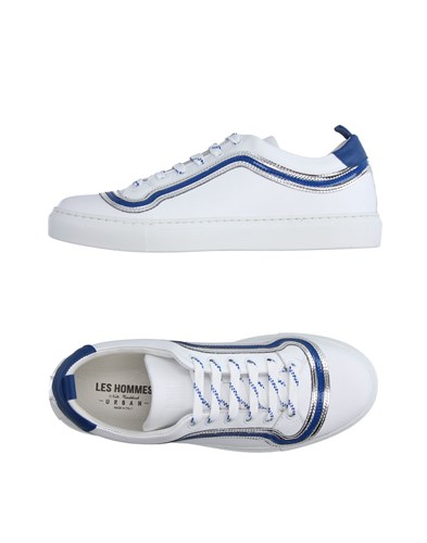 Les Hommes Sneakers White NUyMMG