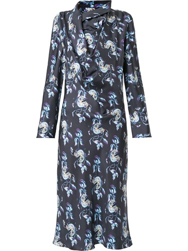 Bianca Spender Chameleon Belle Shift Dress Blue xdqZsPrz