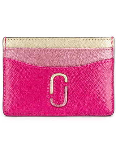 Marc Jacobs Snapshot Cardholder Leather Pink Purple YQsoDd