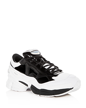 Raf Simons For Adidas Men's Replicant Ozweego Lace Up Sneakers Black White v4Wqq4