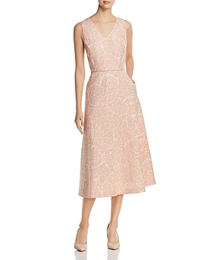 York Jacquard Dress Quartz Linen Lafayette Rose New 148 Midi Jayda qXA1ER