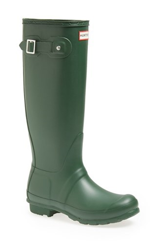Hunter Women's 'Original Tall' Rain Boot Green 8DcIRC